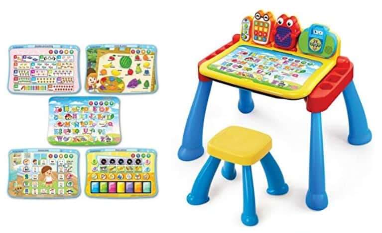 touch and learn activity table for toddlers