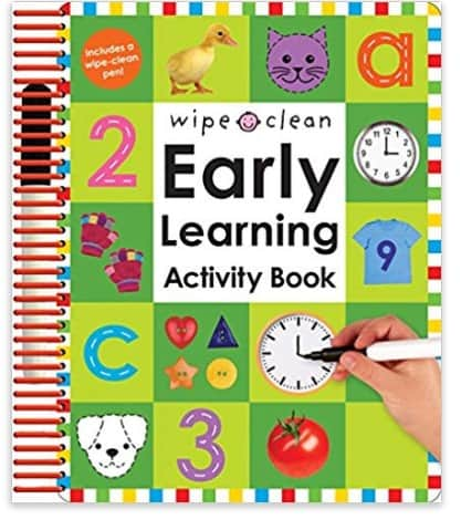 dry erase learning for toddlers