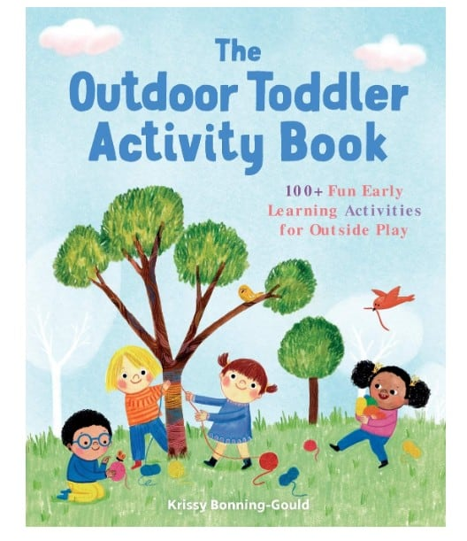 outdoor activity book for toddlers