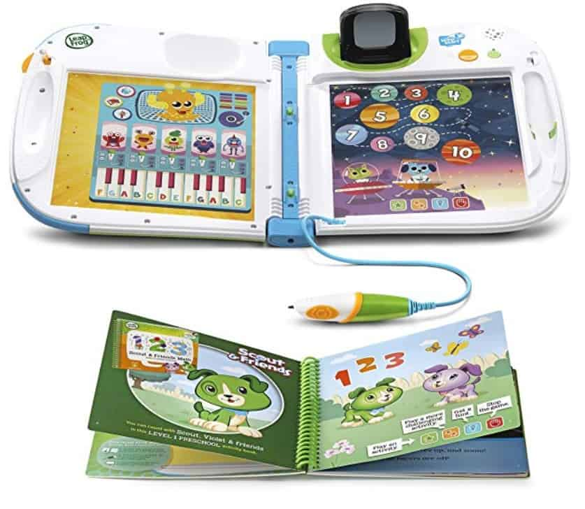 leap frog interactive learning book for toddlers
