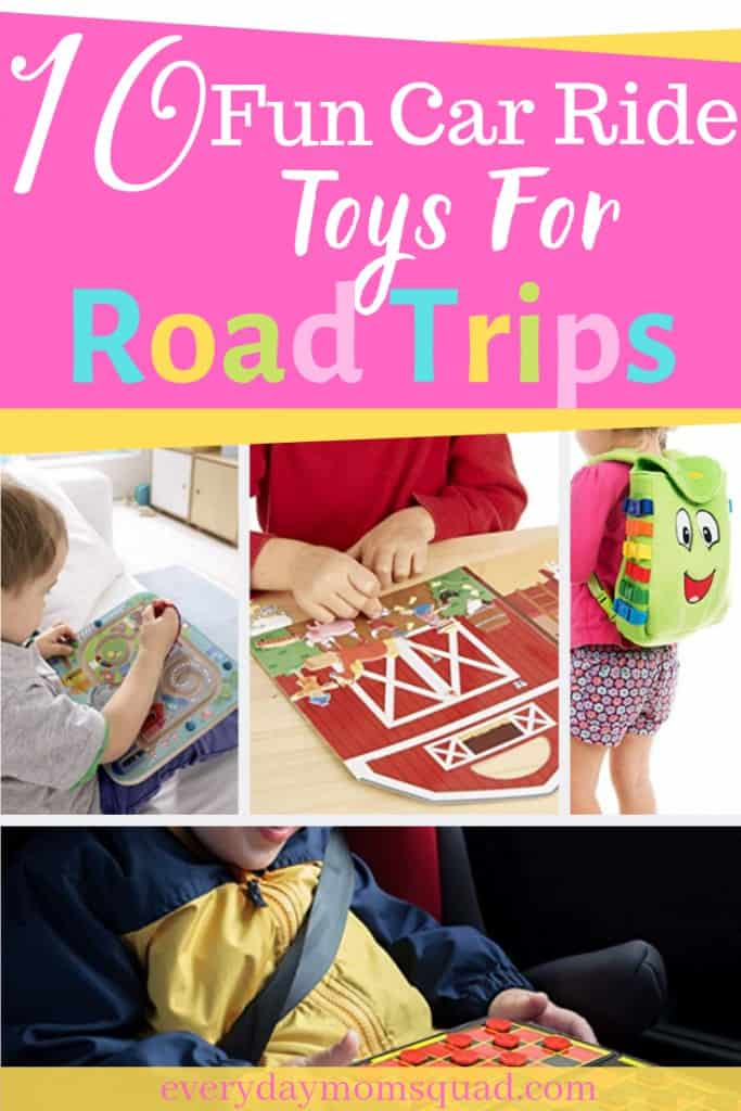 the best toys for kids for a road trip