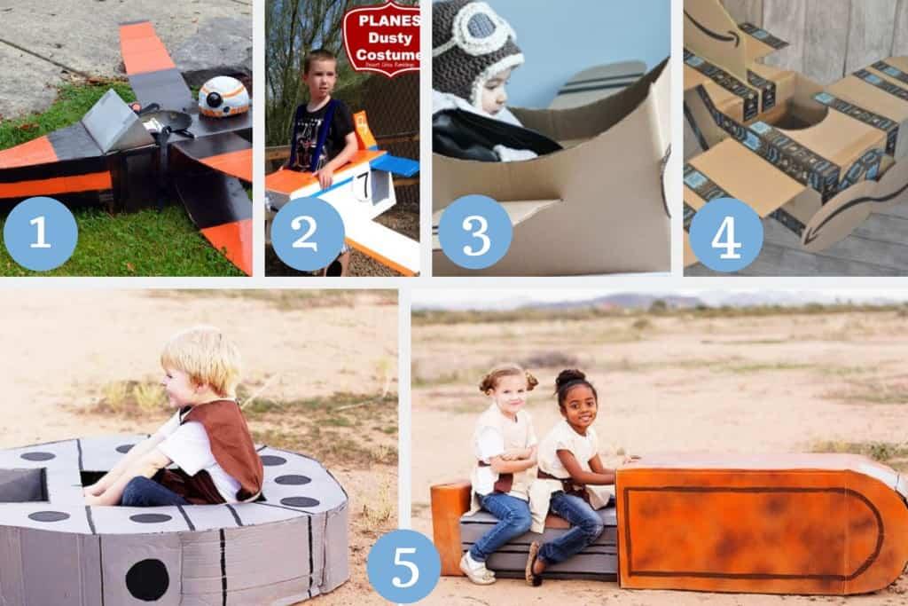 cardboard plane crafts