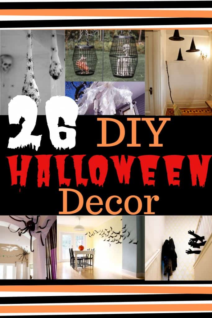 cheap diy halloween decor