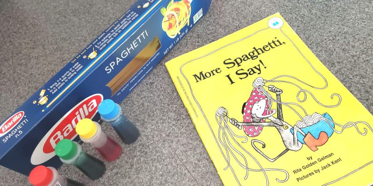Making Reading Fun With Spaghetti