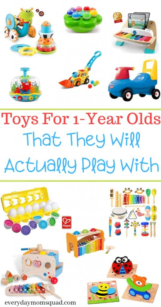 the best toys for one year olds