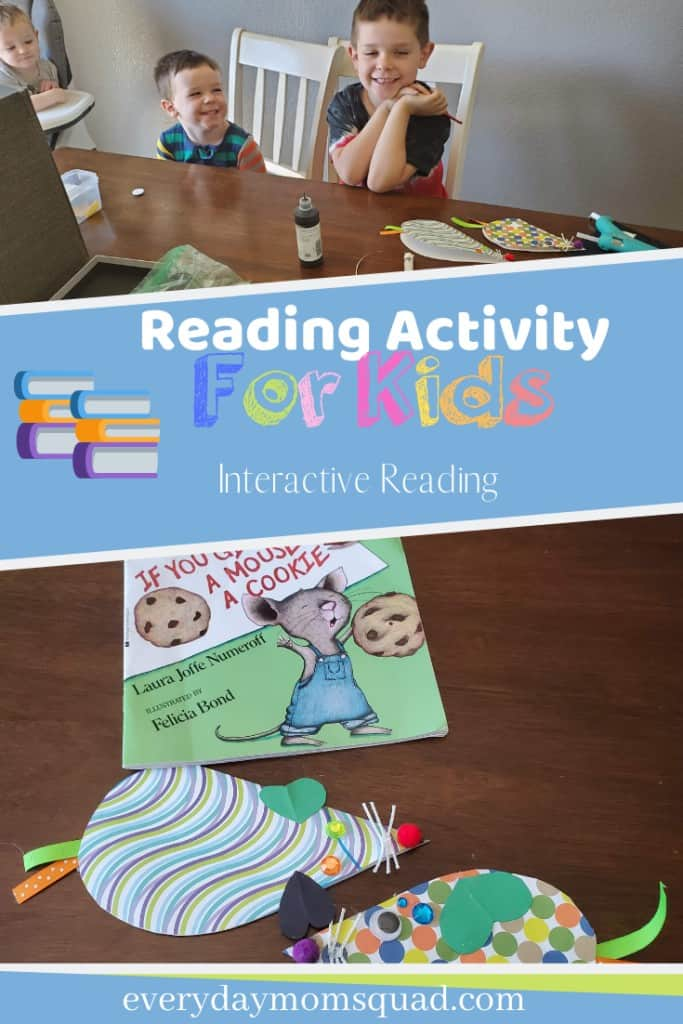 reading craft activity for kids