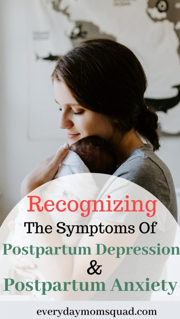 recognizing postpartum and anxiety