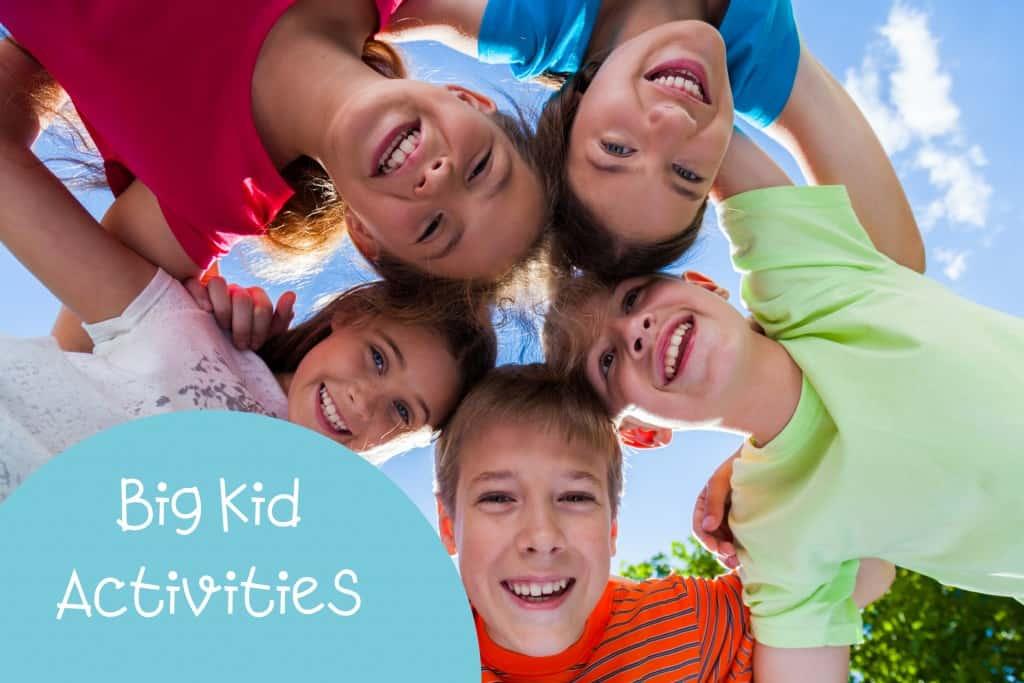activities for big kids