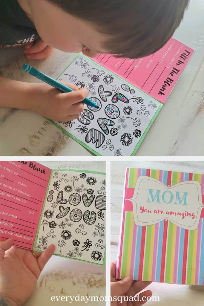 diy mother's day card printable