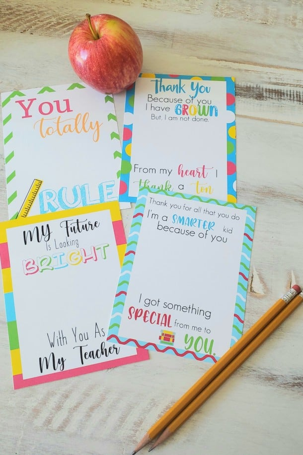 diy gift card holder for teacher appreciation week