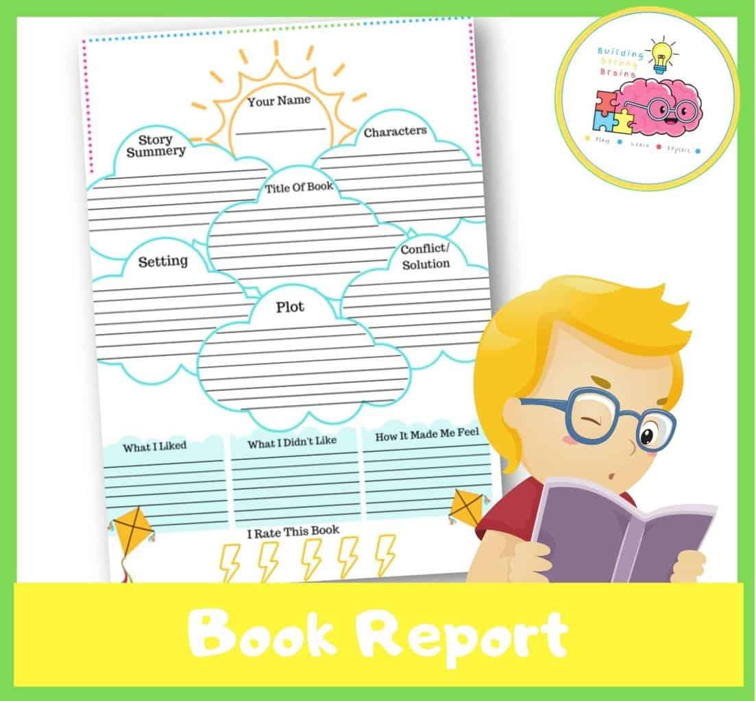book report printable